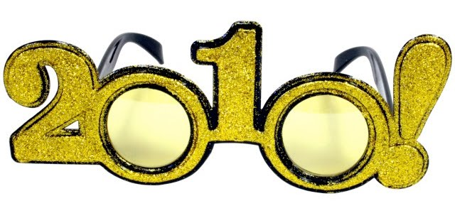2010 new years glasses